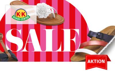 Sommersale – K+K Schuhe